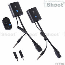 iShoot Wireless Flash Trigger for 3.5mm/6.35mm SYNC JACK Studio Flash