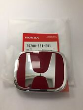 GENUINE HONDA CIVIC TYPE R FRONT GRILLE BADGE 2001-2003