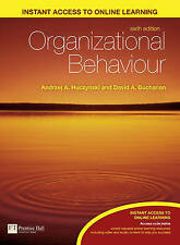 Organizational Behaviour: An Introductory Text by Andrzej Huczynski, David A. B…