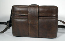 VINTAGE LEATHER RETRO CAMERA CASE AS IS
