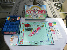 Deluxe Edition Monopoly 1998 Parker Brothers Hasbro~Complete!