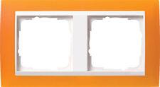 Gira Rahmen Abdeckrahmen 2-fach opak ber 0212332