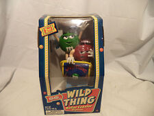 "2002 2nd Edition In Series of M&M's Dispenser ""Wild Thing Roller Coaster"" NIB"