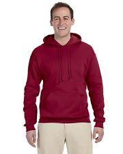 Fruit Of The Loom Mens Blank Fleece Pullover Hooded Sweatshirt Color Hoodies