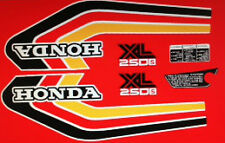 Honda XL250S restauración DECAL set