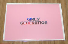 GIRLS' GENERATION SMTOWN WEEK SM OFFICIAL GOODS MESSAGE CARD NEW