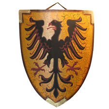 Medieval Coat of Arms Eagle Crest Knights Crusader Roman Shield