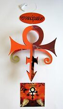 "PRINCE ""EMANCIPAT​ION"" U.S. PROMO HANGING MOBILE - 3 PIECES: Name, Symbol,Cover"