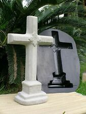 Concrete Cement Mold Old Cross**Free Standing