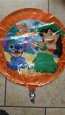 "DISNEY,LILO AND STITCH 18"" FOIL HELIUM BALLOON  NEW LOOSE"