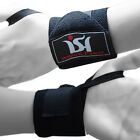 Weight Lifting Gym  Wrist Wraps Power Hand Support Bandage TrainingStraps pair