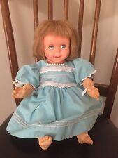 NICE CLEAN Vintage 1965 Mattel SAY 'N SEE  Doll Still Talks EYES & MOUTH MOVE