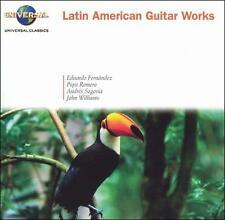 Latin American Guitar Works Romero, Segovi Audio CD