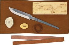 "Karesuando Kniven KAR3526 Parts Eight Piece Knife Making Kit 7 3/4"" Overall"