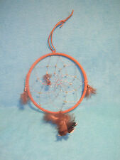 "Dream Catcher in Indian Style, Large Measures 16"" From Top to Bottom"