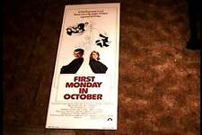 FIRST MONDAY IN OCTOBER 1981 ROLLED INSERT 14X36 MOVIE POSTER WALTER MATTHAU