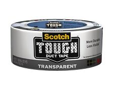 New 3M Scotch 2120-A Transparent Duct Tape, 1.88-Inch by 20-Yard *