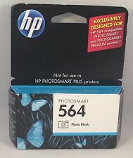 HP 564 Ink Cartridge BLACK - NEW Sealed - Exp Oct 2011 Jet Printer