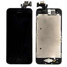 ECRAN LCD Complet +VITRE TACTILE+Home+Caméra frontal+Outils Pour iPhone 5C Noir