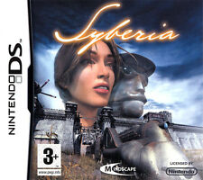 Videogame Syberia NDS