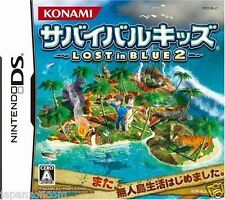 Used DS  Survival Kids: Lost in Blue 2 NINTENDO JAPANESE IMPORT