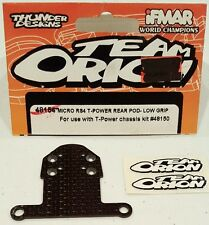 TEAM ORION HPI RACING RC MICRO RS4 WOVEN CARBON T-POWER REAR POD 48154 NIP