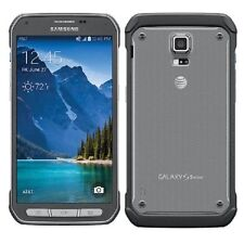 New Unlocked Samsung Galaxy S5 Active G870A 4G LTE 16gb Titanium Gray AT&T GSM
