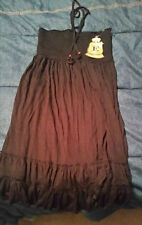 """Elan USA Jersey Swimsuit Cover-Up Dress """"Black"""" NWT!"""