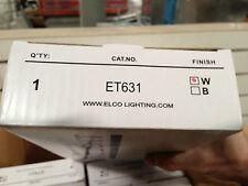 White Elco Lighting ET631 Gimbal Fixture Brand New In The Box Still
