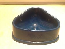 Small Animal Ferret Water Bowl Food Rabbit Guineapig Blue Pet