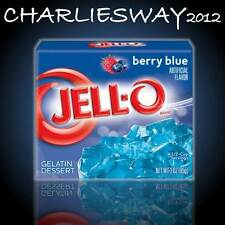 JELLO BERRY BLUE DA 85GR PREPARATO DESSERT FRUTTI DI BOSCO IN GELATINA america