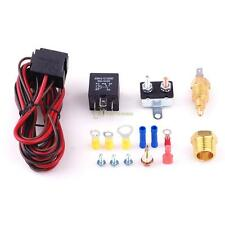 200 Degree Electric Engine Cooling Fan Thermostat Temperature Switch Relay Kit