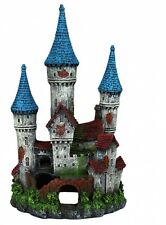 Fish Tank Aquarium Castle with Polyester Resin Decor Ornament Decoration - 12 cm