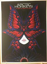 ARCTIC MONKEYS TEXAS POSTER SLATER PRINT THE WOODLANDS CEDAR PARK GRAND PRAIRIE