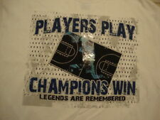 NEW NWT Simply For Sports Basketball Court Player's Play Champions Win T Shirt M