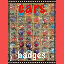 Disney Cars Birthday Party Badges Set Of 15. Bag Fillers. Children Parties