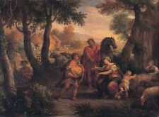 Finding of Romulus and Remus Andrea Locatelli Sage Reiter Italien B A3 00474