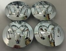 NEW MOPAR DODGE WHEEL CENTER CAP SET OF 4 52013985AA RAM DURANGO DAKOTA