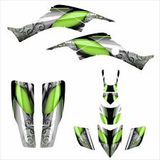 TRX 400 EX Graphics Decal kit  for 1999 - 2007 Honda ATV #8800 Green