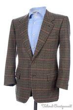 BRIONI Multi Color Woven 100% CASHMERE TWEED Mens Blazer Sport Coat Jacket - 38
