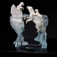 "Starlite Originals ""A Mother's Calling"" Polar Bear Art Sculpture Statue-New"