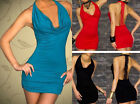 Sexy Lingerie Women's Clothing Summer Cocktail Party Clubwear Dress + G-string