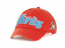 Miami Marlins 47 Brand MLB Modesto Adjustable Snapback Cap Hat