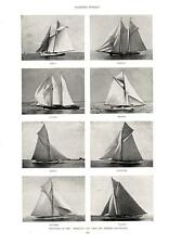 Defenders of the America's Cup, Past and Present   -  Yachting  -   1893