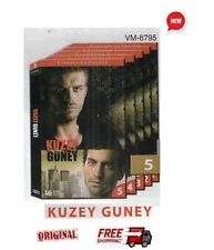 KUZEY GUNEY  - TURKISH GREEK TV  SERIES - 5 HUGE BOXES - 80 DVD UNCUT SET NEW