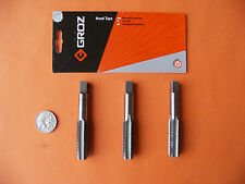 THREAD TAP SET 3Pce M16 x 2.0mm TAPER INTER PLUG GROZ ENG.TOOLS ISO9001:2000