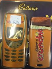 Nokia 8210 Cadburys Crunchie Covers Set Front & Rear plus Keypad HNK82CADCRUST