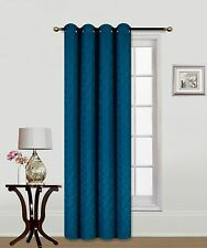 Elegant Decorative JKS1626 Faux Curtain Grommet Embroidery crush panel Window