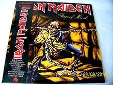 Iron Maiden. Piece Of Mind . vinyl LP Picture Disc [ 2012]