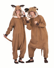 ADULT RUDY THE REINDEER COSTUME DEER RUDOLPH ANIMAL PAJAMAS COSTUMES JUMPSUIT